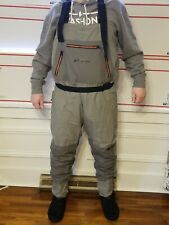 X-Large Frogg Toggs Men/'s Hellbender Stockingfoot Chest Wader Slate//Gray