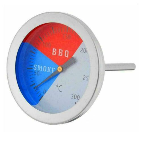 Stainless Steel Barbecue BBQ Smoker Grill Thermometer 100-550℉ best NEW D3L5