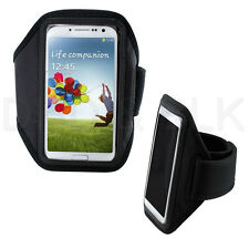 Black Sport Arm band Gym Band Running Case Pouch for Samsung Galaxy S4 i9500 IV