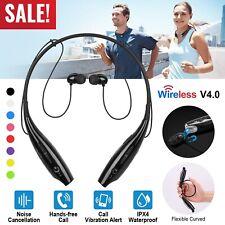 Running Sports Headphones Headset Neckband Magnetic Stereo Earphone Universal