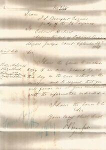 1867 FL Beaufort send order copy in suit against Tipu Sultan's grdson Busiruddin