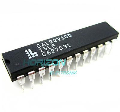 5PCS IC GAL22V10D-15LP GAL22V10D DIP-24 LATTICE NEW