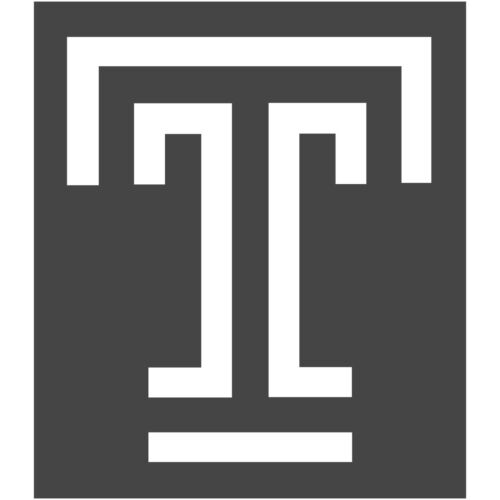 "Temple Owls University T Logo 3/"" Vinyl Decal Sticker Car Window Laptop V#2"
