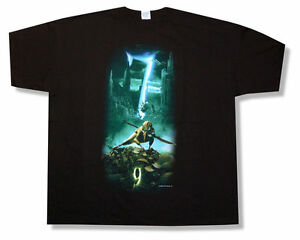 9-movie-To-Defend-Us-7-Black-Adult-T-Shirt-New-Official-Tim-Burton