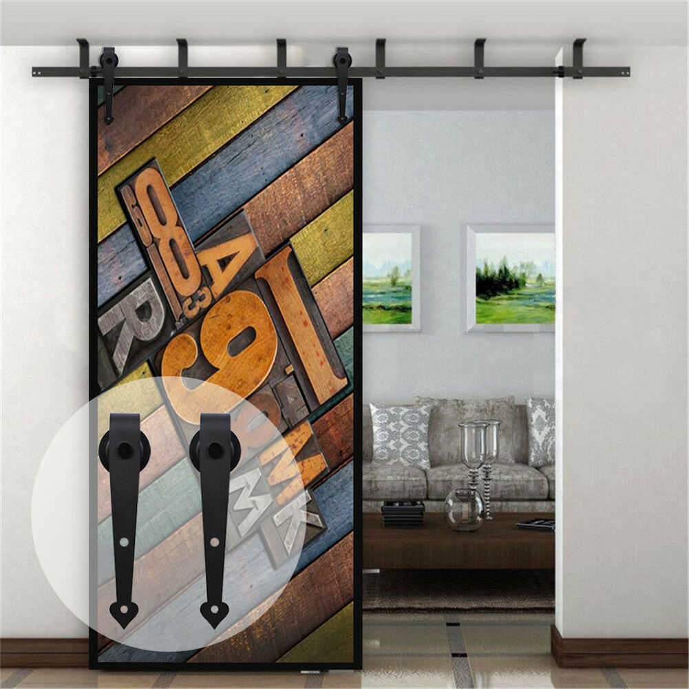 For Hanging Two Doors Package Includes Ceiling Mount