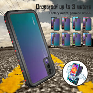 best loved 66fe7 4863c Details about For Huawei P20 Pro/Plus Waterproof Shockproof Dirtproof Hard  Clear Case Cover