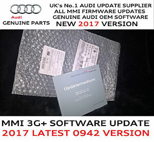 Audi A A A Q MMI G Genuine USA Firmware Update For - Audi mmi update