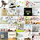 Removable Wall Sticker Quote Flower Decal Room Mural Vinyl Decor Home Carft DIY