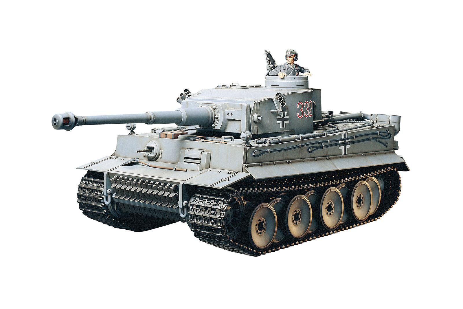 Tamiya R/C Tiger i Early W/Opzione Kit  56010