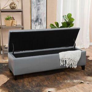 Skyler-Grey-Leather-Storage-Ottoman-Bench