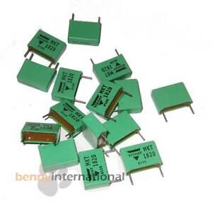 10x-1-5uF-100V-Metalized-Polyester-MKT-CAPACITOR-Film-MKT1820-VISHAY-ROEDERSTEIN