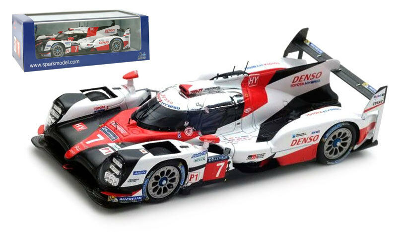 S5803 Spark Toyota TS 050 ibrido  7  TOYOTA RACING  LE MANS SCALA 2017 -