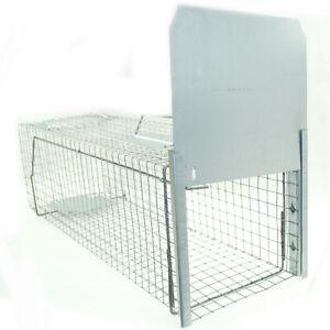 Trappola-Vivente-82x26x26-per-Procioni-Gatto-con-1-Eingang