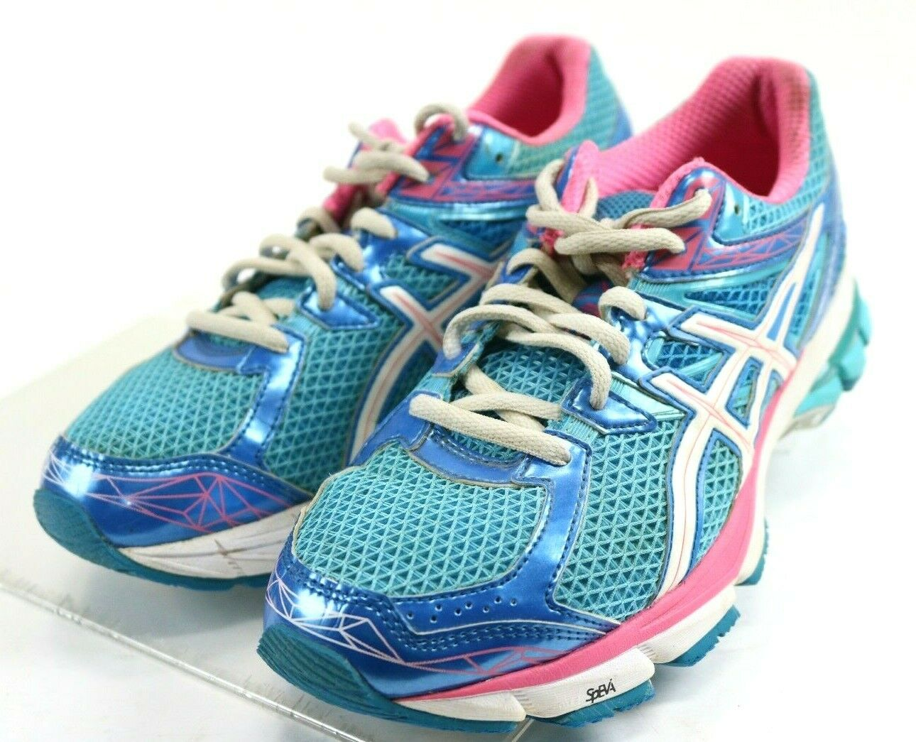 Asics GT-1000 3  Women's Running shoes Size 8 bluee Pink
