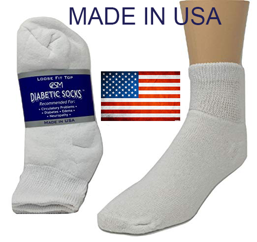 33b2840321cac BEST QUALITY 12 pair of mens white diabetic ankle socks 13-15 KING SIZE MADE