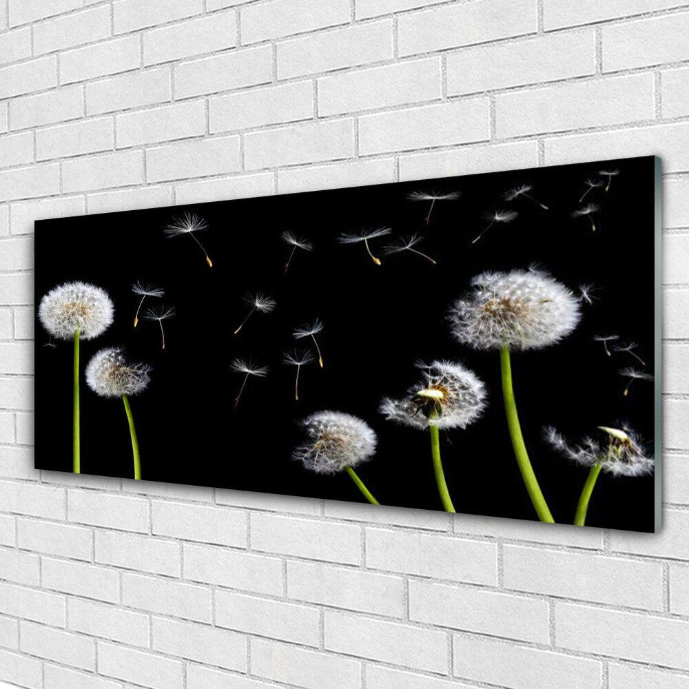 Goût élégant et choix distingué. Tableau mural Image 125x50 sur Plexiglas® 125x50 Image Floral Pissenlits 64f4d9