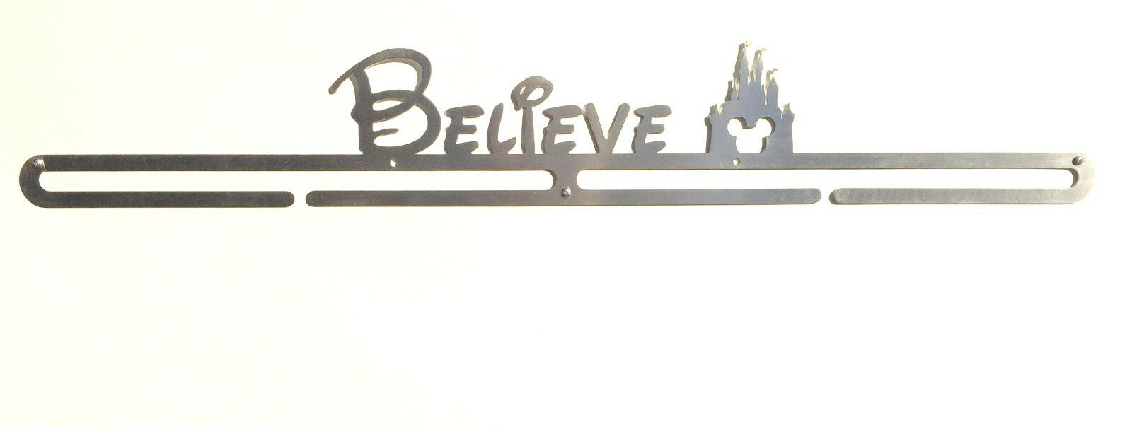Believe Race Medal Display Hanger --  Holds 16-18 Medals