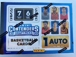 2020-Panini-Contenders-Draft-Picks-Basketball-Blaster-Box-Sealed-Lamelo-Ball