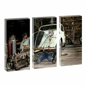Top Immagini Arte Stampa su tela XXL OFFICINA - 3-Divisorio per 40 cm*80 cm 111  </span>