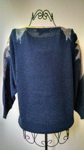 Blue Sweater Adornments Nannell 290 W Taglia leather Collectors Articolo Lg EqxCTf