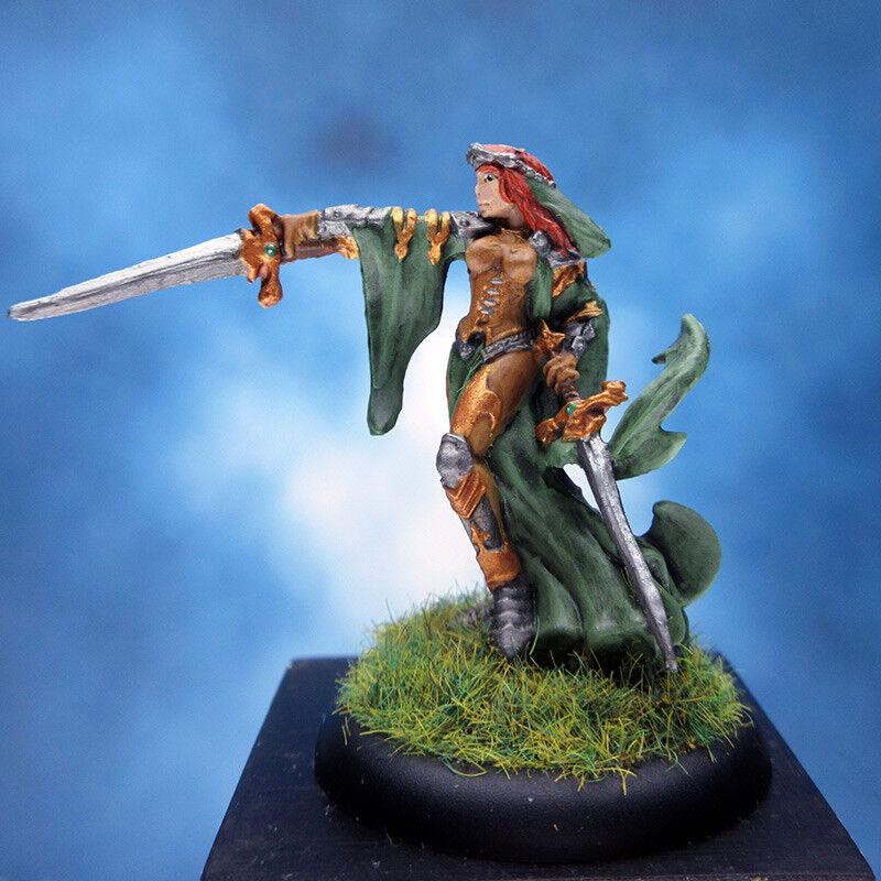 Painted Reaper BONES Miniature Female Warrior