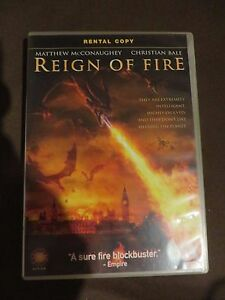 Reign Of Fire DVD 2003 rental copy film matthew mcconaughey christian bale - birmingham, West Midlands, United Kingdom - Reign Of Fire DVD 2003 rental copy film matthew mcconaughey christian bale - birmingham, West Midlands, United Kingdom