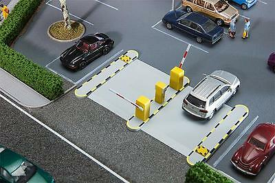 111x70x18,5 mm installation profondeur 12mm FALLER 180371 automatique parkschranken-Dimensions