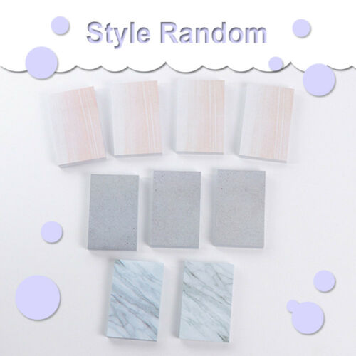 New Creative Rectangle Stones Sticky Notes Memo Pad Planner Stickers Stationery