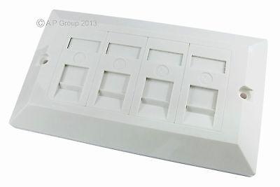 Plaque Murale Module Outlet plastron Coaxial Coaxial Socket Aerial adaptateur de connecteur