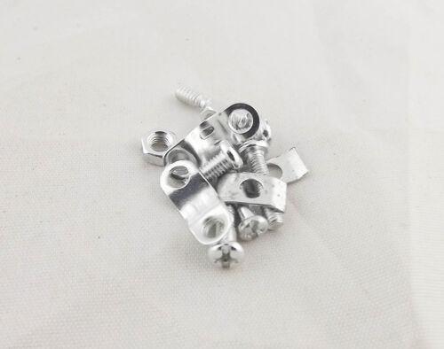 10x DB9 Female 9 Pin 2 Rows D-Sub Connector /& Grey Plastic Hood Cover Backshell
