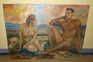 Nudist couple young Randy couple