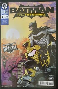 BATMAN-and-The-SIGNAL-1a-of-3-2018-DC-UNIVERSE-Comics-VF-NM-Book