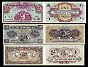 Grande-Bretagne -  2x 1 Shilling - 1 Pound - Edition ND 1962 - Reproduction - 19