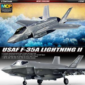 Academy 1/72 USAF F-35a Lightning II Plastic Model Airplane Kit 12507