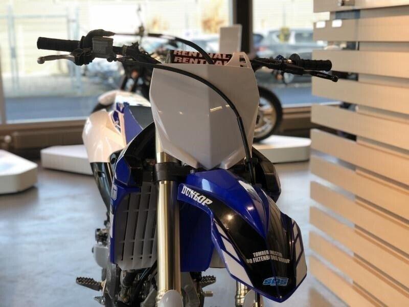Yamaha, YZ 450 F, ccm 450