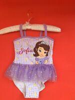 Disney Sofia The First Princess Tutu Swimming Costume age 2/3 years