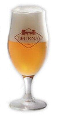 Tournay Belgian Beer Glass NEW IN STOCK