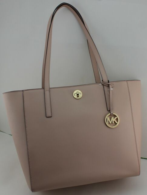ba731d85bae8 NEW AUTHENTIC MICHAEL KORS RIVINGTON BALLET LG LARGE LEATHER TOTE HANDBAG  WOMENS
