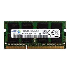 SAMSUNG M471B1G73QH0-YK0 8GB 2Rx8 DDR3 PC3L-12800 1600MHz 1.35 LAPTOP MEMORY RAM