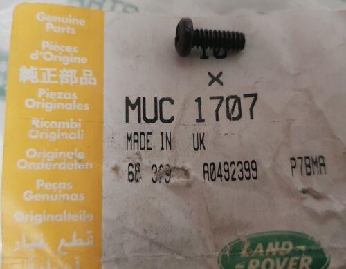 GENUINE LAND ROVER DEFENDER REAR WINDOW CATCH RETAINING SCREW MUC1707