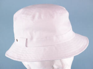 Image is loading Ladies-Mens-white-Hat-Cricket-Bowls-Hiking-Gardening- 6ad2a535e8c