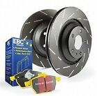 Disc Brake Pad and Rotor Kit-S9 Kits Yellowstuff and USR Rotors Front EBC Brake