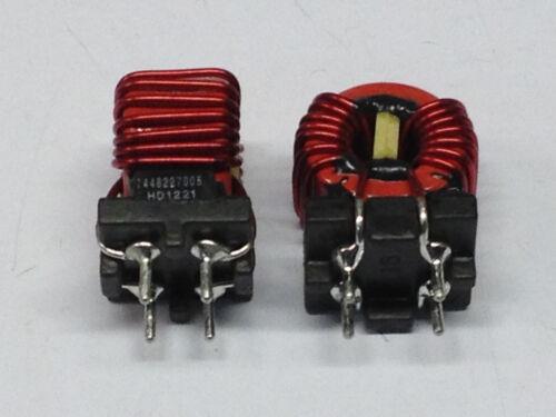 1 Stück Würth Drosselspule Induktivität 450µH 6,5A ±30/% M3369