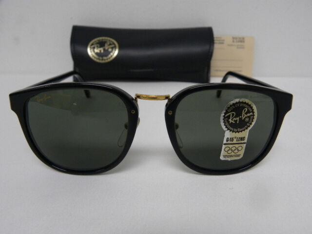 Premier Lomb Ban Traditionals Sunglasses Bauschamp; Shiny Ray W0926 Black G15 SUVqzMpG
