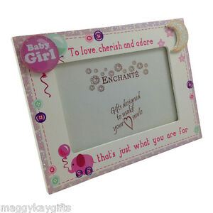 image is loading enchante baby elephant photo frame girl boy pink - Elephant Picture Frame