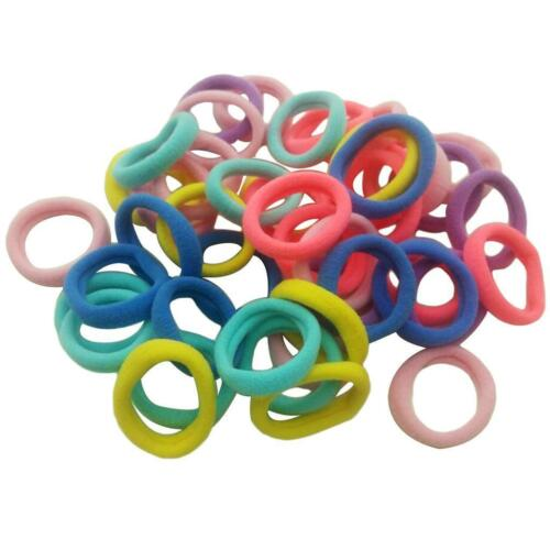 Elastic hair bands 1//30//50pcs//lot black headwear rubber band ponytail holder