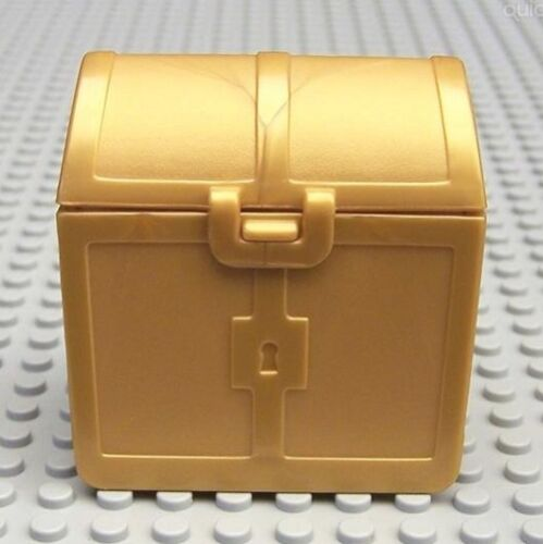 Duplo Treasure Chest Opening 2 x 3 x 3 Pearl Gold LEGO