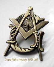 ZP295 All Seeing Eye Masonic Masons lapel pin badge with G Geometry Freemason