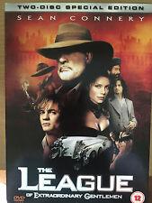 Sean Connery THE LEAGUE OF EXTRAORDINARY GENTLEMEN ~ 2-Disc UK DVD w/ Slipcover