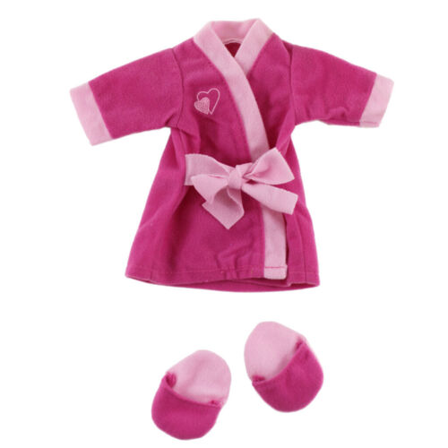 Rosy Pajamas Doll Clothes 18 Inch American Doll Dress up Clothing Accessory